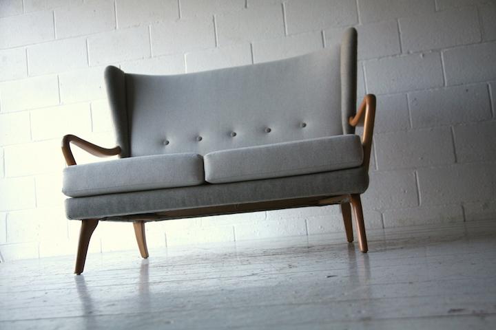 1950s Sofa By Howard Keith Cream And Chrome