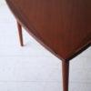 1960s Large Danish Teak Triangular Coffee Table 1