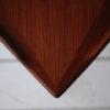 1960s Large Danish Teak Triangular Coffee Table 2