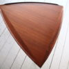 1960s Large Danish Teak Triangular Coffee Table 3