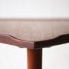 1960s Large Danish Teak Triangular Coffee Table 4