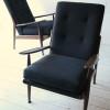 1960s Teak Armchairs by Scandart 3