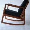 Danish Teak Rocking Chair by Ole Wanscher 4