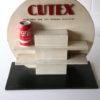 Vintage Cutex Shop Display Cabinet