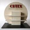 Vintage Cutex Shop Display Cabinet 3