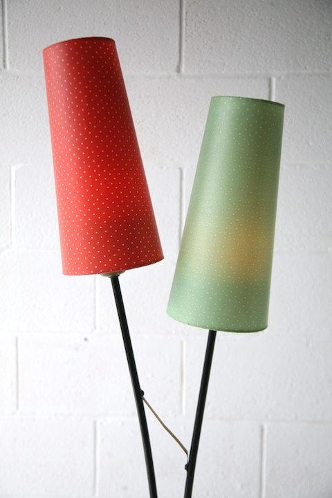 1950s 2 Arm Floor Lamp 1