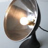 1950s Black Aluminium Desk Lamp