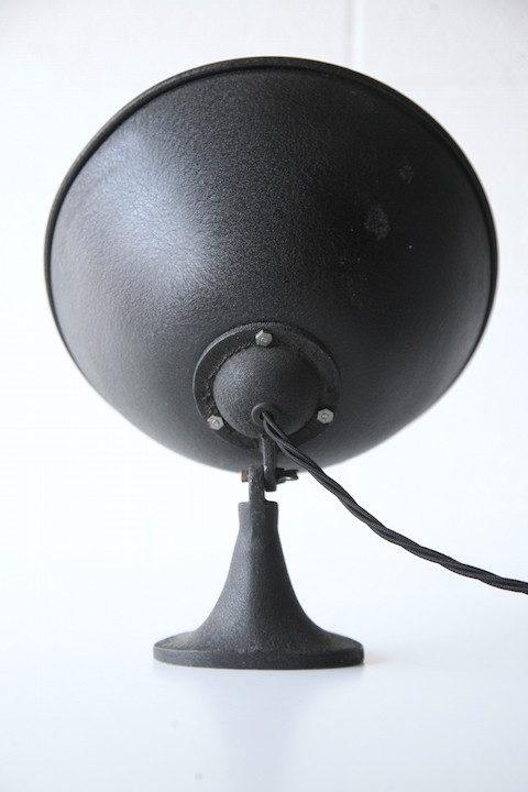 1950s Black Aluminium Desk Lamp 2