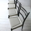 1950s Black White G Plan Dining Chairs 2