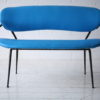 1950s Blue Bench 4