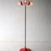 1970s 4 Bulb Orange Floor Lamp 4