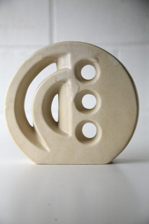 Vintage 1960s Modernist Ceramic Vase