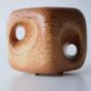 Vintage Bertoncello Vase in 'Tabacco' Glaze 2