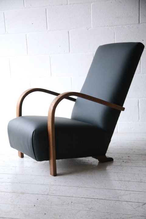 1930s Oak Armchair 2