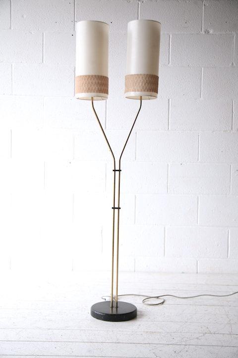 1950s Double Floor Lamp 2 3