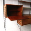 1960s Brianco Teak Shelving Unit 3