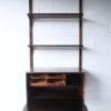 1960s Danish Rosewood Poul Cadovius Bureau and Shelves 1