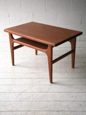 1960s Danish Teak Coffee Table 1