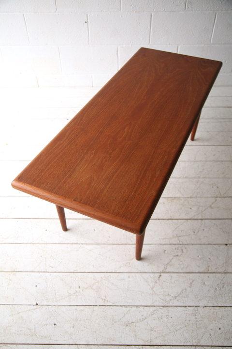 1960s Danish Teak Coffee Table by Silkeborg