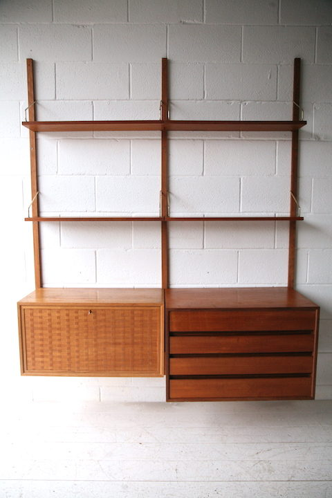 1960s Danish Teak Shelving System by Poul Cadovius 1