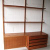 1960s Danish Teak Shelving System by Poul Cadovius 2
