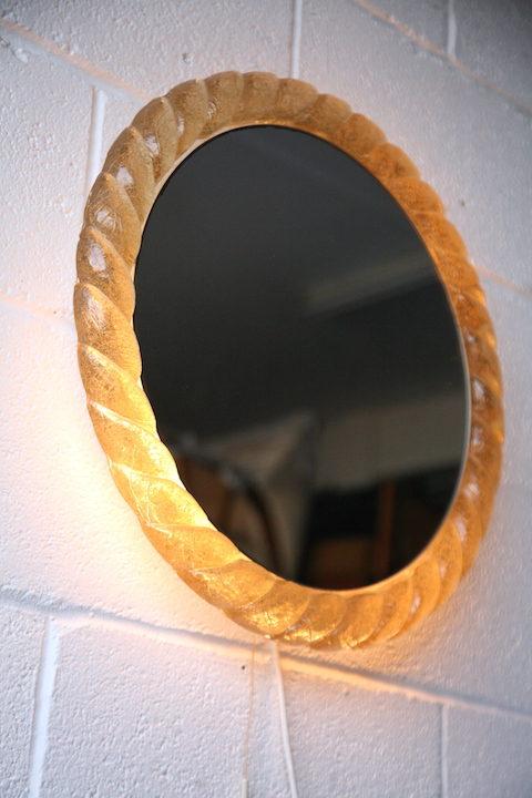 1960s Mirror By Hillebrand