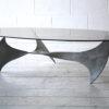 1960s 'Propeller' Table by Knut Hesterberg for Ronald Schmitt 4
