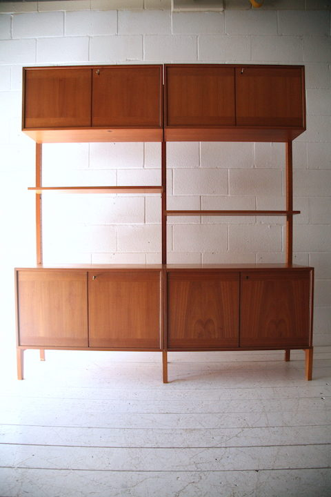 1960s Teak Danish Shelving Unit 3