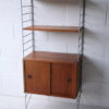 1960s Teak Shelving Unit by Brianco 3