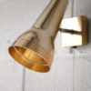 1970s Anodised Wall Light by Conelight 1