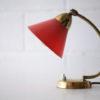 Vintage Brass 50s Desk Lamp 1
