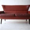 1960s Danish Leather Rosewood Sofa 1