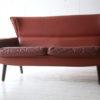 1960s Danish Leather Rosewood Sofa