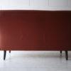 1960s Danish Leather Rosewood Sofa 3