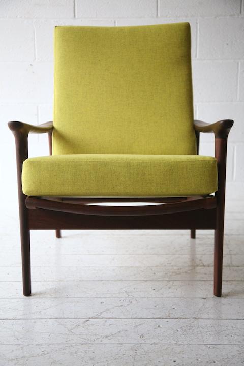 1960s Teak Armchair By Guy Rogers Cream And Chrome