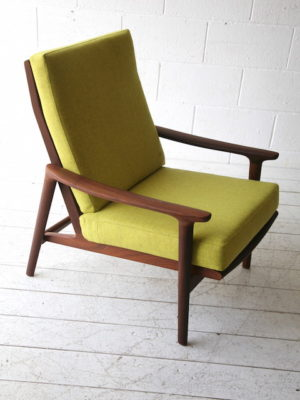 1960s Teak Guy Rogers Armchair