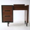 1960s Walnut Stag Dressing Table : Desk