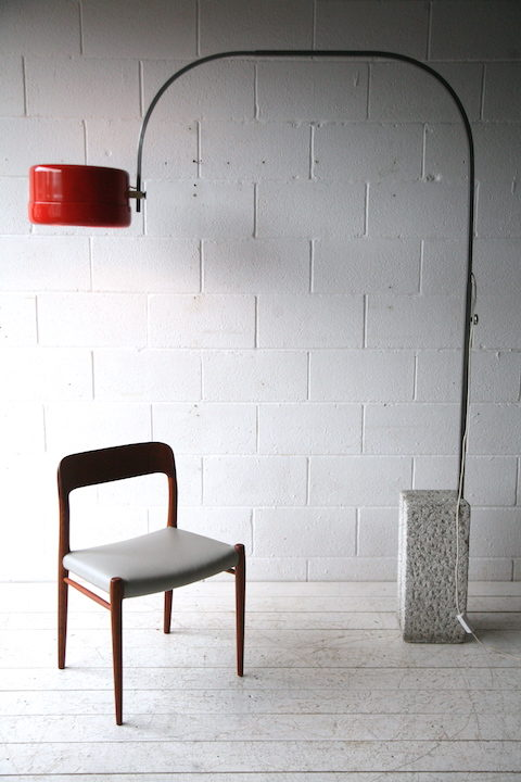 1970s Orange Arco Floor Lamp 4