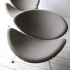 Grey Slice Chairs by Pierre Paulin for Artifort