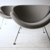 Grey Slice Chairs by Pierre Paulin for Artifort 2