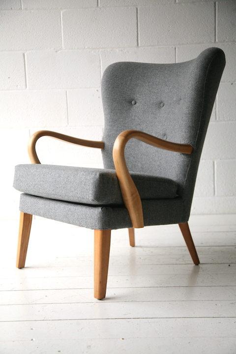 1950s Beech Armchair 2