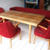 1950s Dining Table Chairs and Bench 3