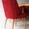 1950s Dining Table Chairs and Bench 5
