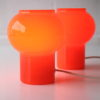 1970s Glass Table Lamps by Thorn
