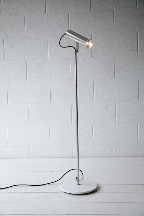 Floor Lamp By John And Sylvia Reid For Concord Cream And