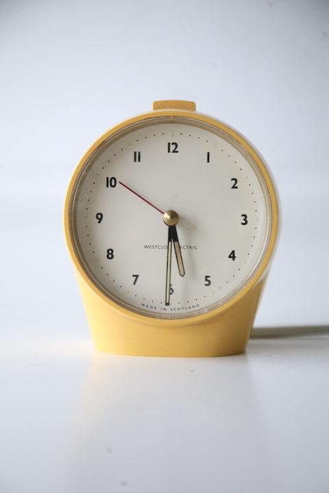 'Merlin' Alarm Clock Designed by Robert Welch for Westclox Ltd