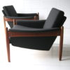 Pair of 1960s Teak Armchairs 3