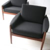 Pair of 1960s Teak Armchairs 4