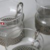 'Tsaikka' Coffee Glasses by Timo Sarpaneva for IIttala Finland 2