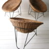 Vintage 1950s Wicker Chairs 3